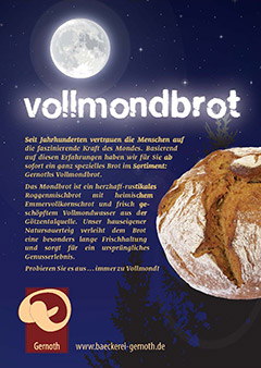 Vollmond-Brot
